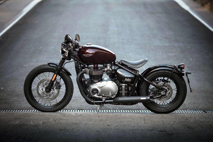 Triumph bonneville, motorcycle wallpaper