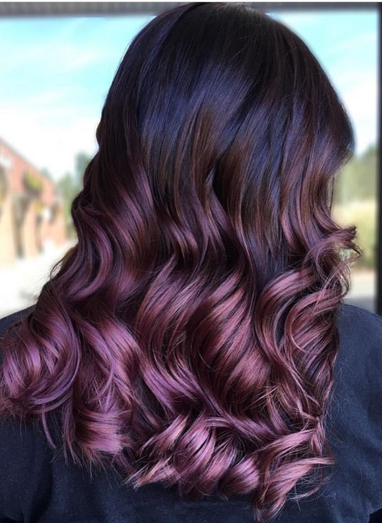 Best 25+ Purple balayage ideas on Pinterest | Balayage ...