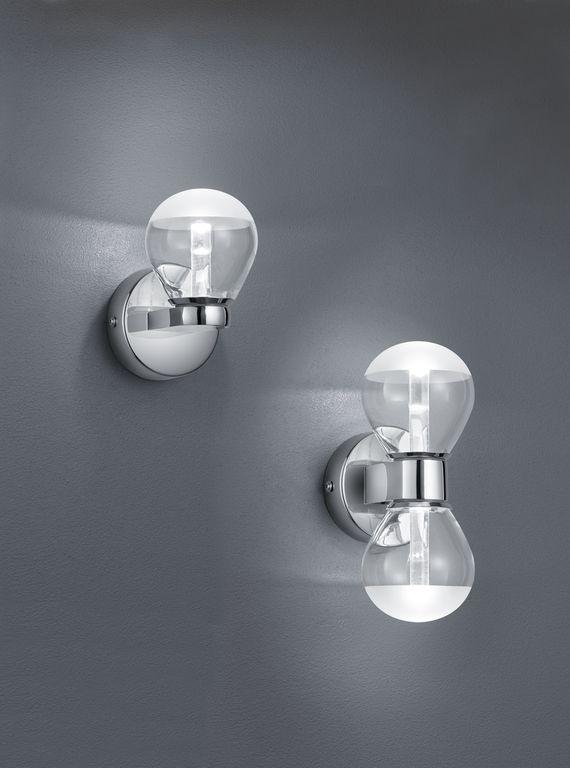 Brandon H2O seinävalaisin LED 3 W ja 2x3 W