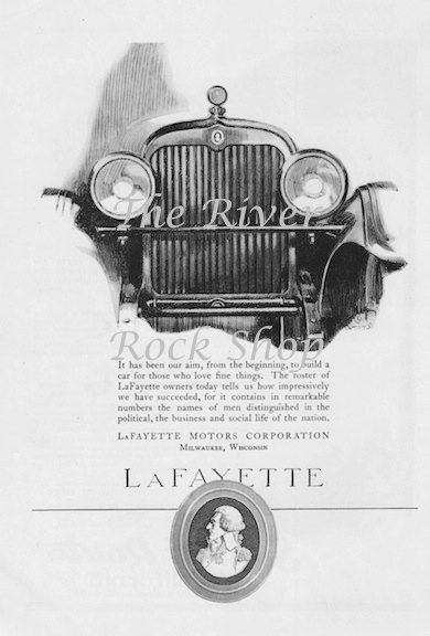 41 best retro b w ads images on pinterest 1920s for Lafayette cds 30