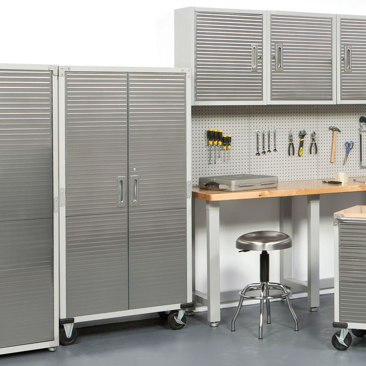 Seville Classics Ultra Hd Tall Storage Cabinet Sam S
