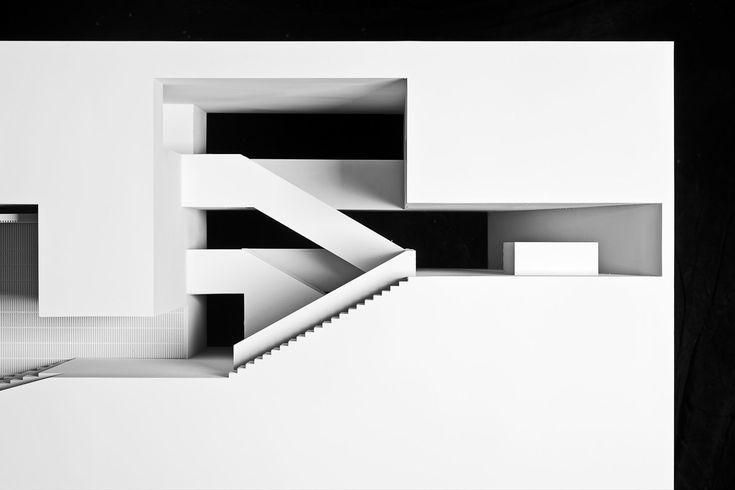maquete centro das artes casa das mudas ilha da madeira i maquettes pinterest arch and architecture - Beste Ausere Hausfarben