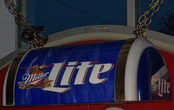 Miller LITE Pool Table Light   $65 | SIGNS For Sale | Pinterest | Miller  Lite