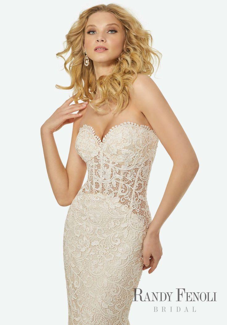 Randy Fenoli Bridal, Olivia Wedding Dress Style 3403
