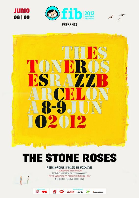 Video: The Stone Roses open first tour in 16 years at Barcelona's Club Razzmatazz
