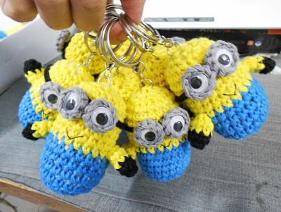Firefly Crochet by Chieu: Crochet Amigurumi minions ◕‿◕:)