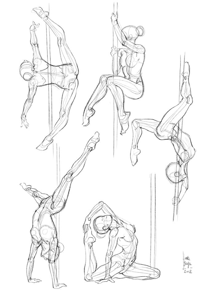 Poses artistiques