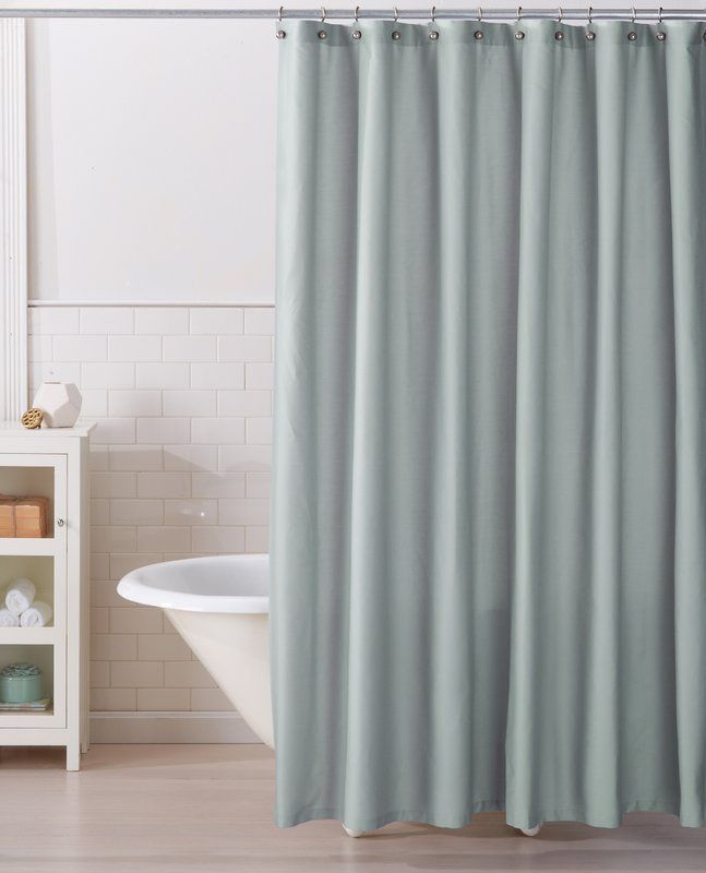 Monroe 100 Cotton Single Shower Curtain House Styles Curtains