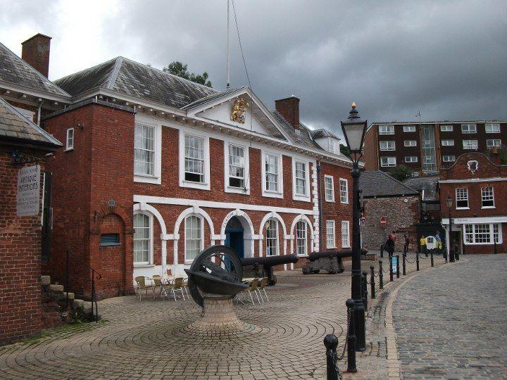 The Custom house Exeter Quay