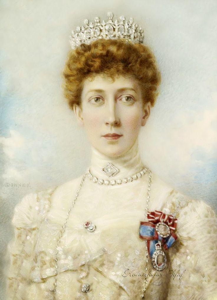 Princess Louise, Princess Royal (Louise Victoria Alexandra Dagmar) (20 Feb 1867-4 Jan 1931) UK. 3rd Child of King Edward VII (Albert Edward) (1841-1910) UK & wife Princess Alexandra (1844-1925) Denmark. Wife 1889 3rd cousin Alexander William George Duff (1st Duke of Fife) (10 Nov 1849-29 Jan 1912) UK.
