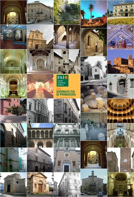 FAI di Primavera - March 23rd and 24th Monuments that you'll be able to visit in Le Marche