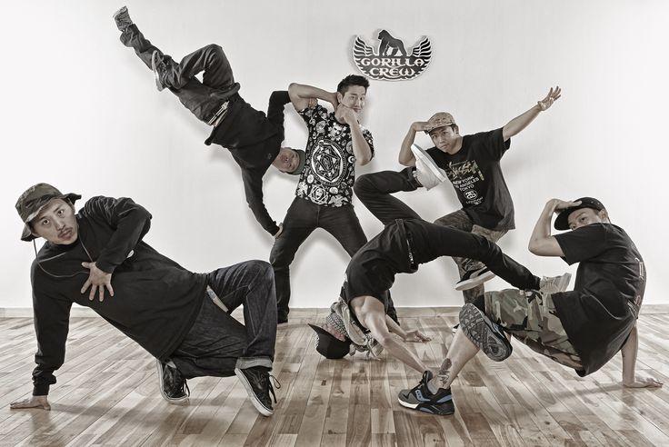 Gorilla Crew Bboyz ILHO, Zebra, Collie, 2touch, Slam