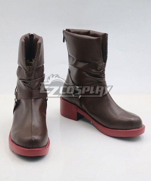 Fullmetal Alchemist Edward Elric Cosplay Shoes Boots Cos Shoes