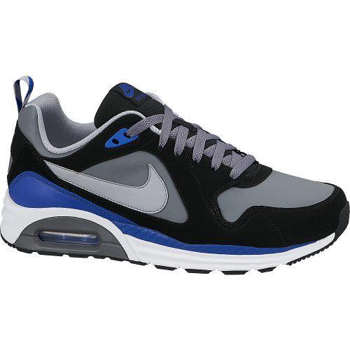 NIKE NIKE AIR MAX TRAX LEATHER black/grey De Nike Air Max Trax is een sportieve schoen voor heren.