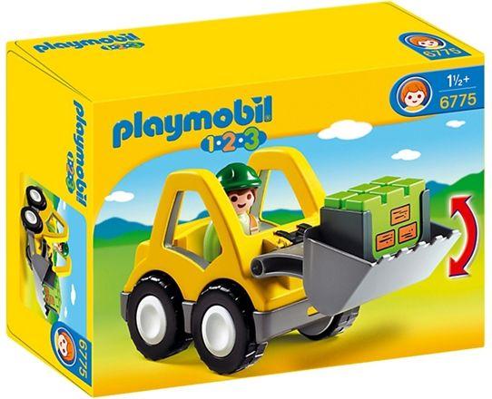 6775 Playmobil 123 Hjullastare
