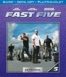 Fast Five [Includes Digital Copy] [UltraViolet] [Blu-ray] [Eng/Fre/Spa] [2011]
