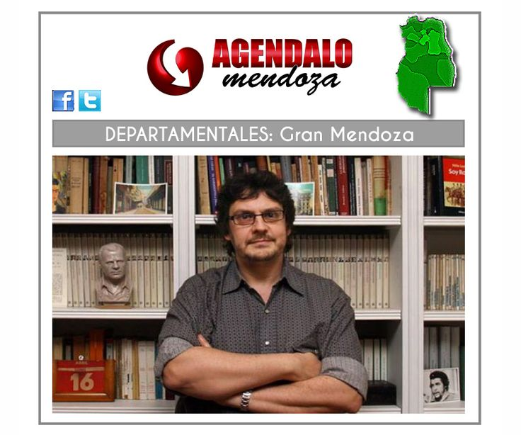 Gran Mendoza: En Las Heras disertará Felipe Pigna sobre San Martín http://www.agendalomza.com/index.php/departamentales/item/2391-en-las-heras-disertará-felipe-pigna