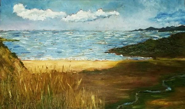 Mediterranean landscape, Oil on canvas, Olga Tretyak  http://x-doux-x.livejournal.com/36683.html?mode=reply