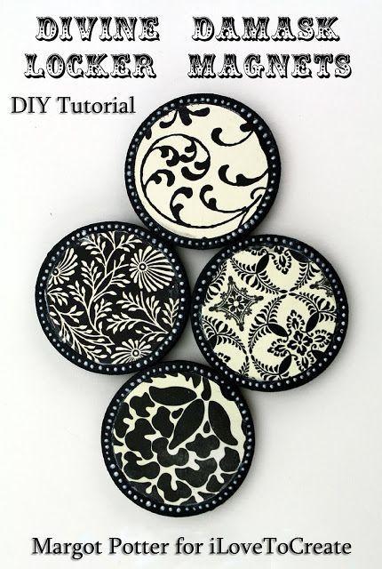 Teen Craft : DIY Locker Magnets - A Little Craft In Your DayA Little Craft In Your Day