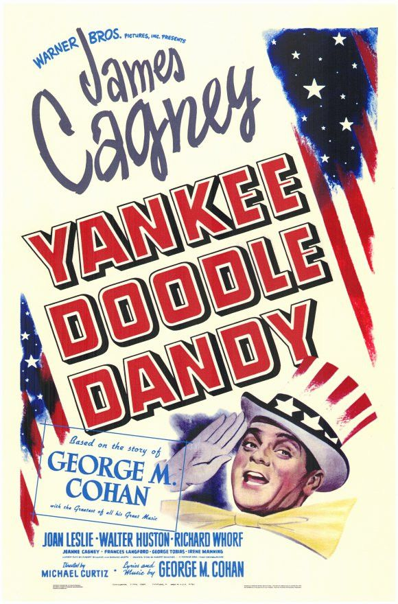 Yankee Doodle Dandy 11x17 Movie Poster (1942)