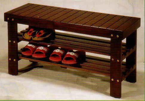 Beautiful new wooden shoe bench furnituremaxx http www for Beautiful wooden benches