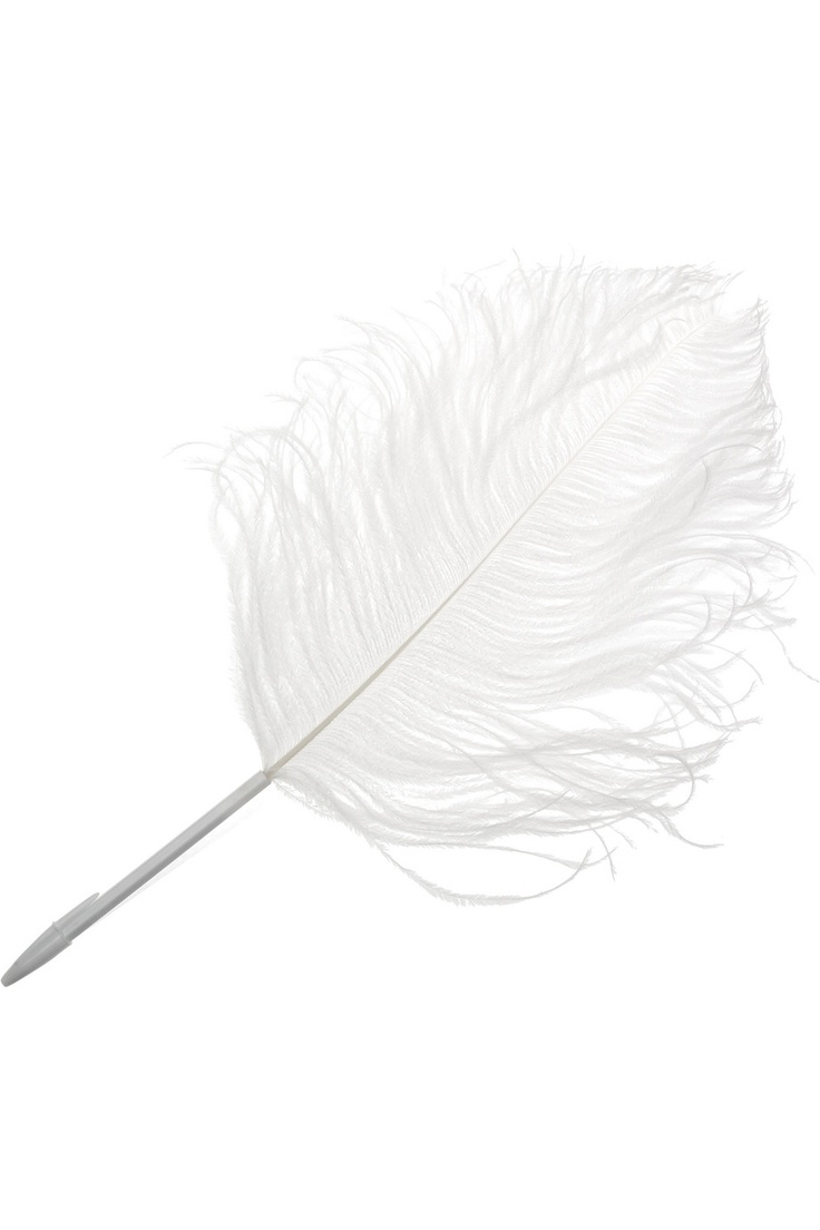$60 Maison Martin Margiela Ostrich Feather Pen