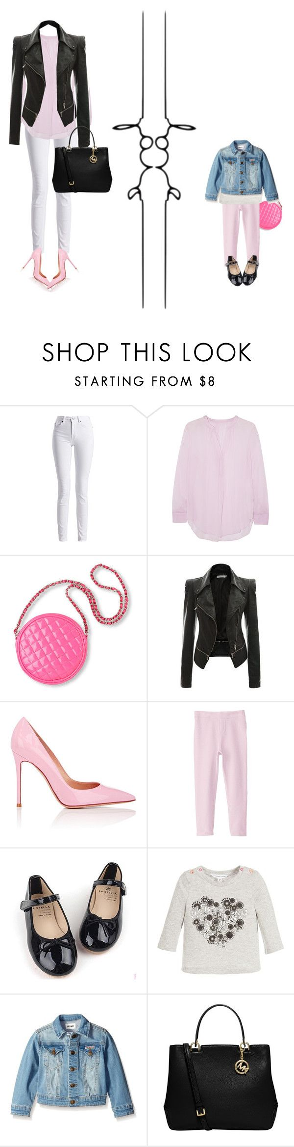"""Today's Look."" by maja-el-aly ❤ liked on Polyvore featuring Barbour International, Raquel Allegra, Gianvito Rossi, The Children's Place and MICHAEL Michael Kors"