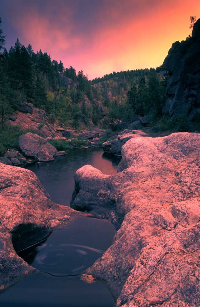 Hippy Hole, Black Hills SD. One of our favorite spots on a summer day. Just east of Hill City.