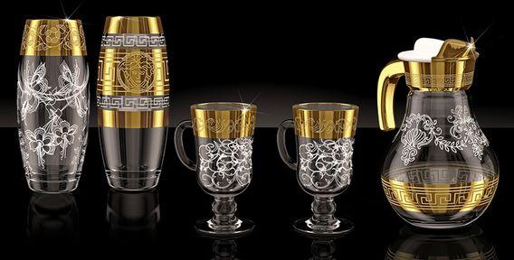 Наборы бокалов и стеклянная посуда - Групон Москва - акции и купоны на рестораны, маникюр, массаж, развлечения, путешествия, шопинг и многое другое