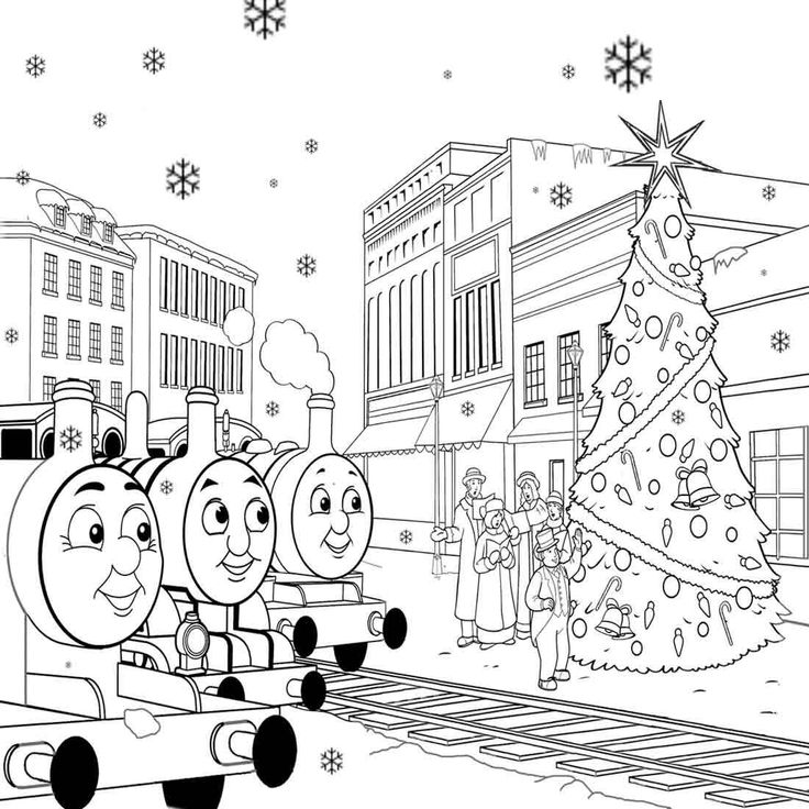 thomas the train printable winter coloring pages for kids winter