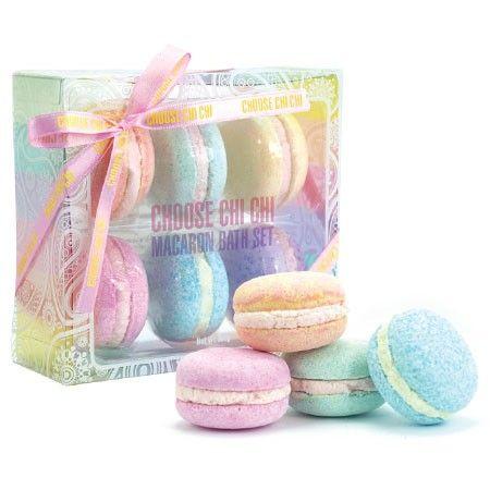 Pastel Bath Macaron Set (Chi Chi Cosmetics)