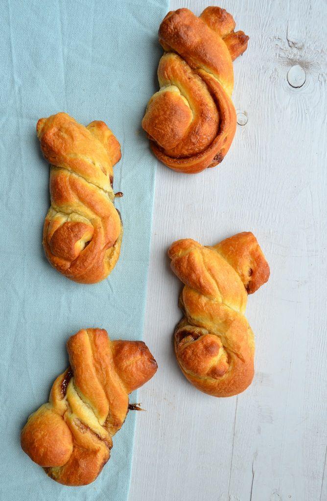 Snelle Kaneelbroodjes voor Pasen - Uit Pauline's Keuken