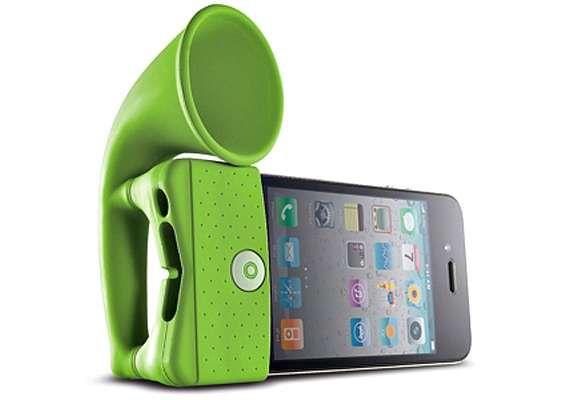 Astonishing Analogue Amplifiers : bone collection iphone speaker