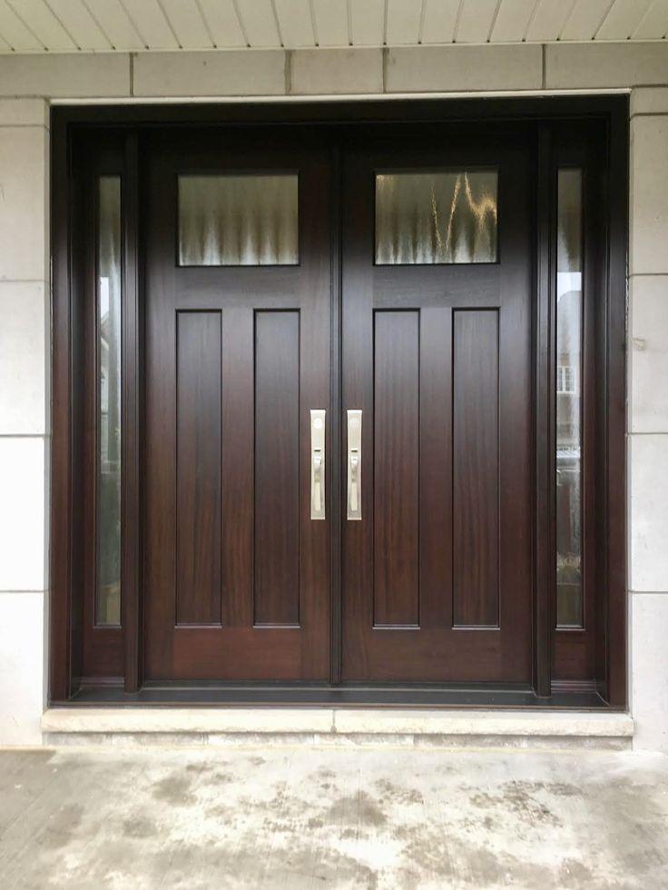 Amberwood Doors Inc: Magnificent #handmade #custommade #mahogany