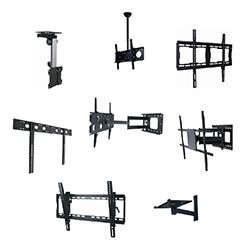 Mounting brackets are used to mount a television on a wall or ceiling. To See some of the many available mounting brackets please visit http://tvrepaircompany.ca/wall-mounting-brackets/