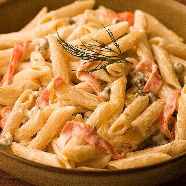 Smoked salmon and vodka pasta recipe
