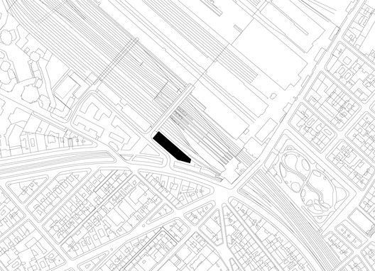Strato Office Block,Site Plan