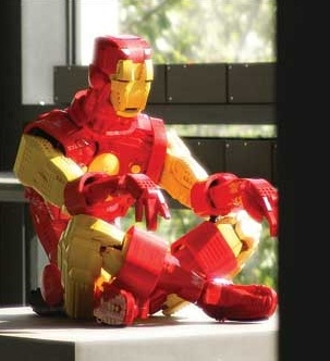 The Arvos Brothers - Iron Man. #LegoArt