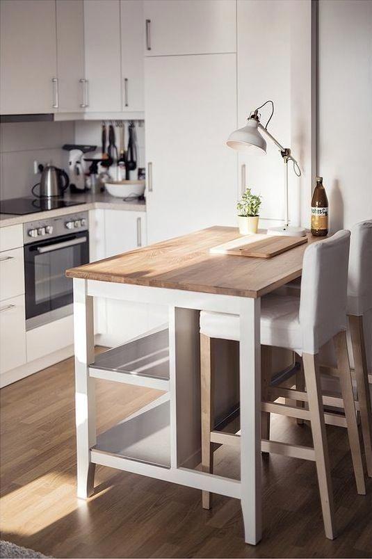 Hoy Toca Un Post De Ideas Para Barras De Desayuno O Comida Especial Cocinas Pequenas Kitchenislands Cozinhas Domesticas Cozinhas Modernas Decoracao Cozinha