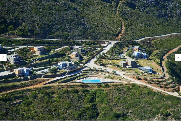 Aegea Blue Cycladic Resort- Aerial View