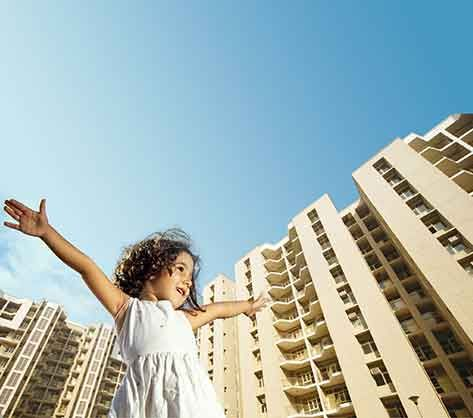 Buy a spacious 2 BHK apartment in Alwar that has been meticulously planned and designed to meet the requirements of modern families. Each apartment is equipped with world-class specifications and provides a comfortable living experience to the residents. These apartments are well-connected to all major parts of the city and all essential facilities are just a stone's throw away!