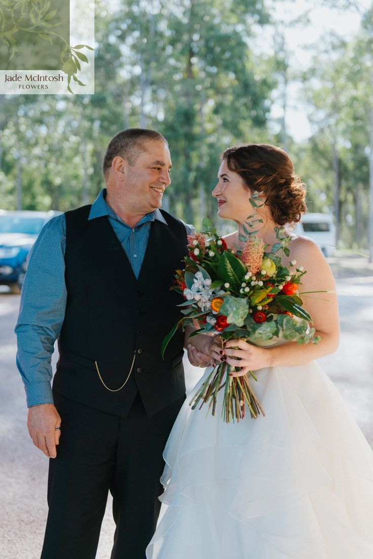 Forget everything you think about wedding bouquets. Big bunches of bright, beautiful flowers are where it's at. www.jademcintoshflowers.com.au