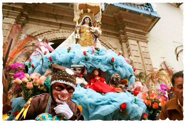 In #Paucartambo, each year on July 16, the town holds a festival to honour its patron saint, La virgen del Carmen, which the local townsfolk endearingly call La Mamacha Carmen or Little Mother Carmen. The names of the dances performed during this festival are: collas, chunchos, contradanza, siclla, cachampa, chujchu, majeños and others. Discover the best of Peru's nature and archeology with #Inkanatura Travel. #perutravel #vacation #travel Picture by @larepublica --> http://bit.ly/1rcIIMj