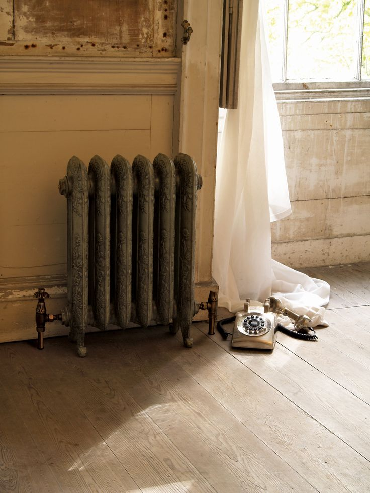 This is lovely Daisy Cast Iron Radiator by Carron which can be purchase from UKAA. The cast iron radiator is painted in the antique french grey.