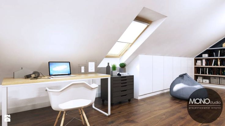 Domowe biuro - zdjęcie od MONOstudio - Salon - Styl Nowoczesny - MONOstudio