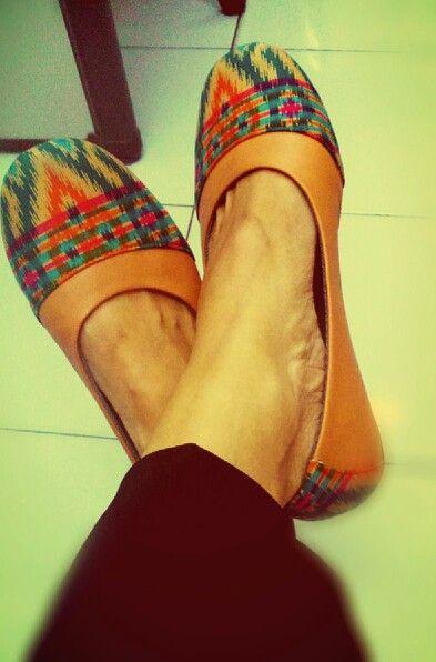 Batik shoes by SpaToe