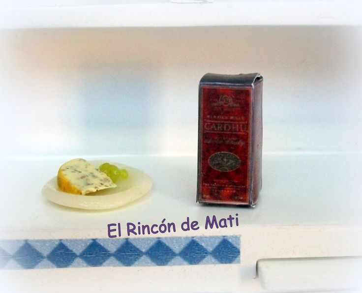 Cardhu whisky, escala 1/12, miniatura para casas de muñecas. de ElRincondeMati en Etsy
