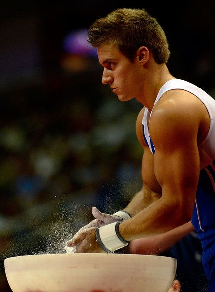 2012 U.S. Olympic Gymnastics Team Trials - Sam Mikulak .. Me and him will one day be married ... No joke