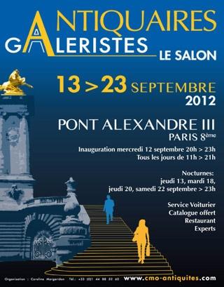 Salon des Antiquaires Pont Alexandre III  Du 13 au 23 Septembre