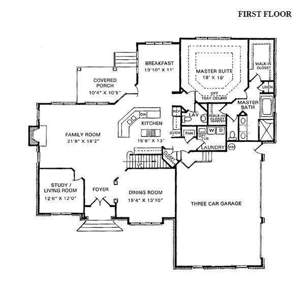 8 best blue prints images on pinterest floor plans for Unique open floor plans